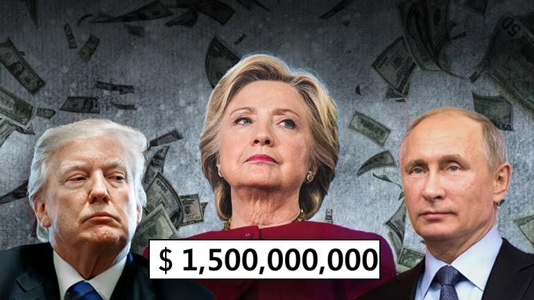 Μαύρα ρωσικά λεφτά στη Χίλαρι