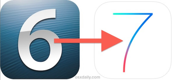 Upgrading to iOS 7 the right way