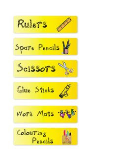 Editable tray labels | Beginning School | Pinterest | Name labels ...