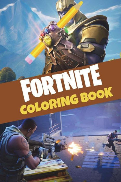 Fortnite Coloring Book: 25 action-packed Fortnite coloring ...
