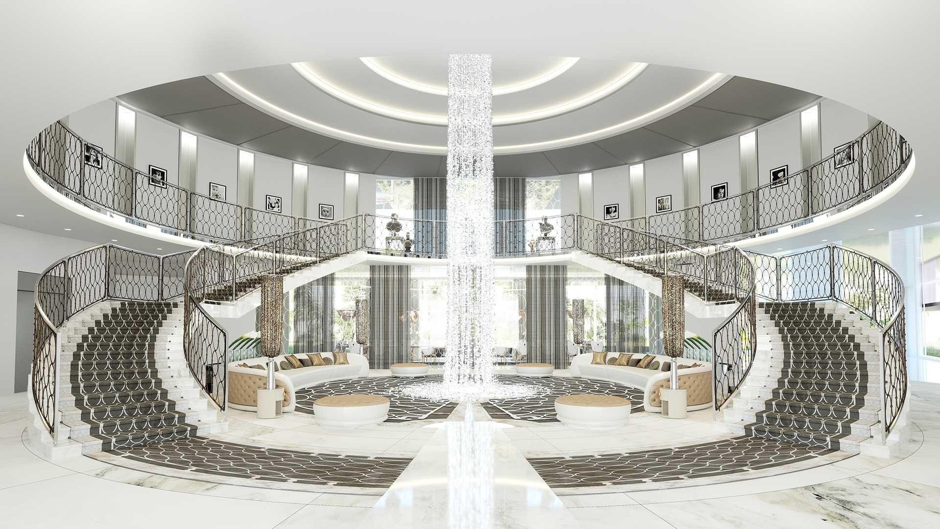 Design De Maison Minimaliste: Plan Architecture Villa De Luxe