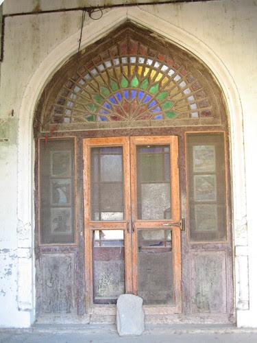 Ornate doorway in Chitral Fort