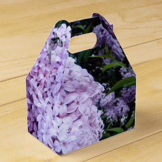 Lush Lilacs Party Favor Box