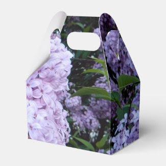 Lush Lilacs Party Favor Box