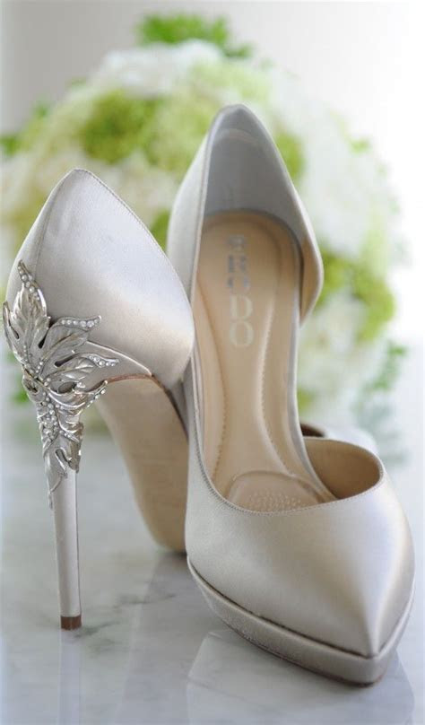 These romantic heels are the perfect wedding day accessory