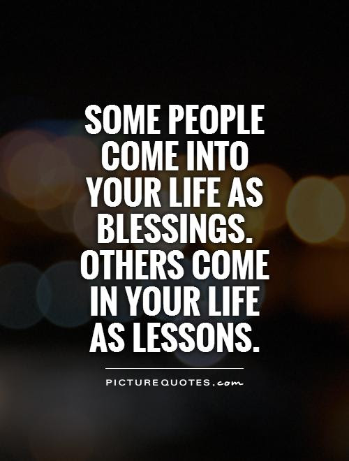 Some People Come Into Your Life Quote Quotes About People Coming