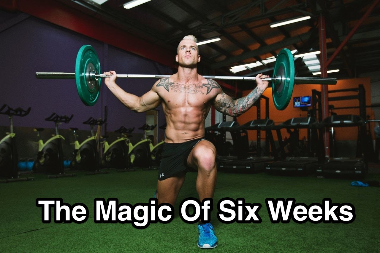 Listen to the 'The Magic of six weeks' podcast. Click here!