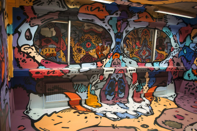 Sobekcis Mind-Blowing Mural | SIXAND5 - Inspiration magazine