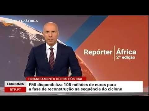 Entrevista do presidente Felipe Nyusi na RTP (Vídeo)