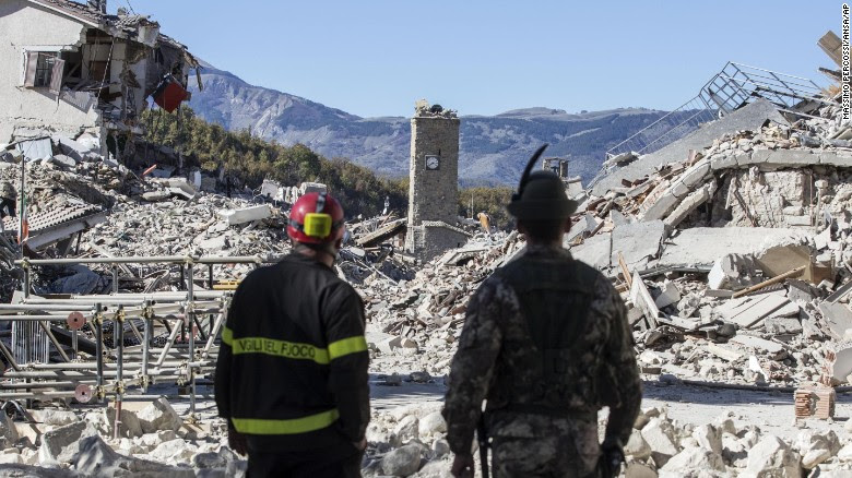Fourth Major Earthquake Strikes Italy: Biggest In 35 Years