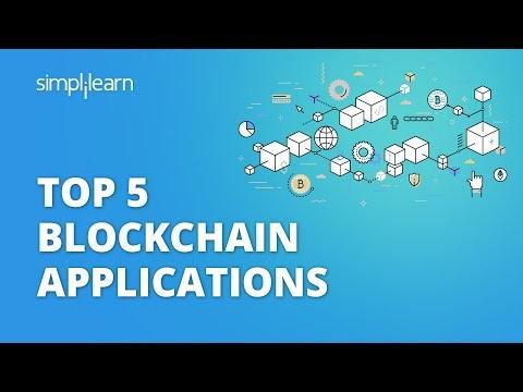Top 5 Blockchain Applications | Blockchain Applications 2021 | Blockchain | #Shorts | Simplilearn