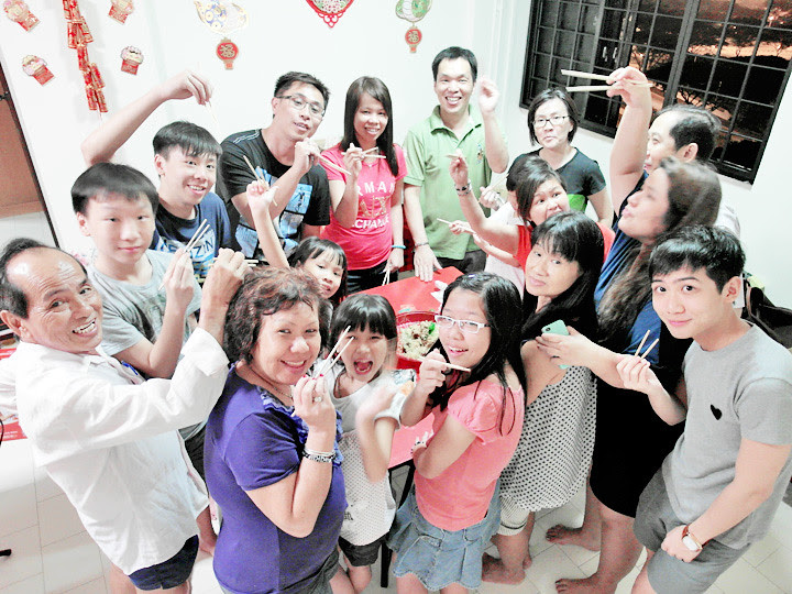 cny lao yusheng family