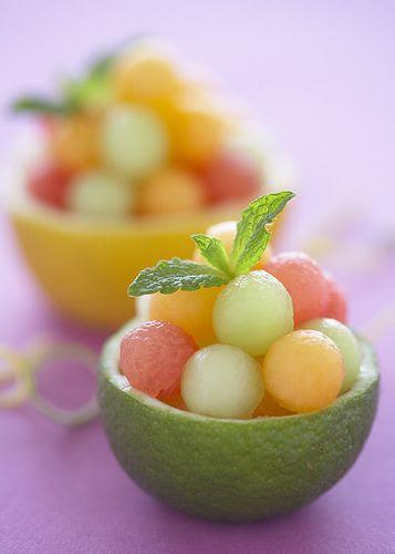 Melon balls!!