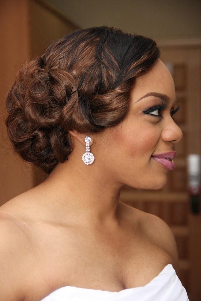 Charming Black Women Wedding Hairstyles   Hairstyles 2017, Hair ...