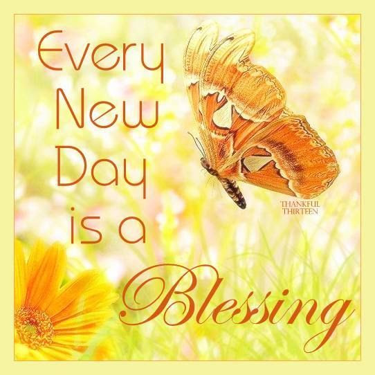 Every Day Is A New Blessing Pictures Photos And Images For
