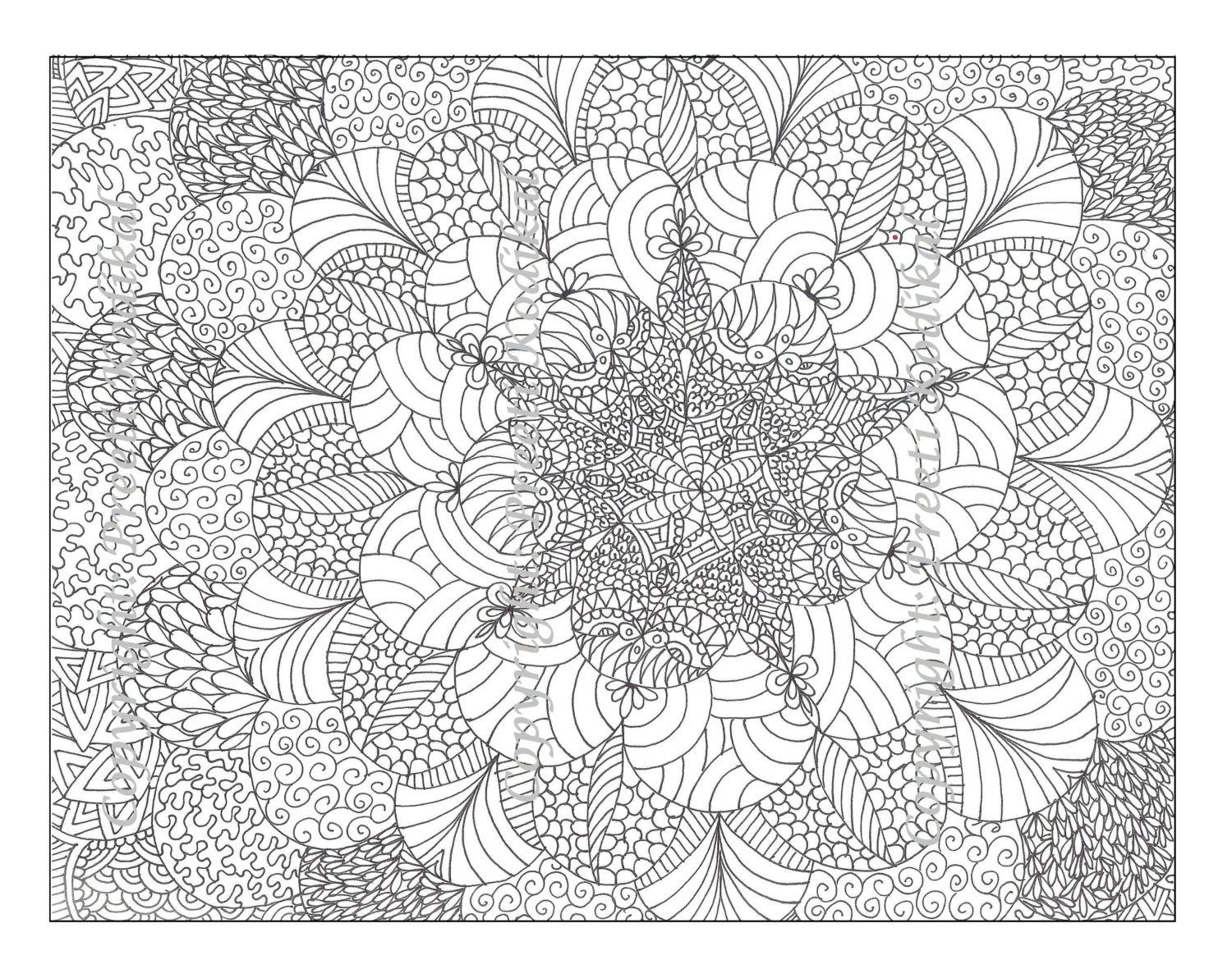 57 Top Free Printable Intricate Coloring Pages For Adults , Free HD Download