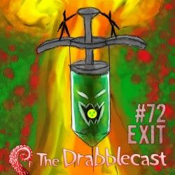 Cover for Drabblecast episode 72, Exit, by T.A. Holly McCrea