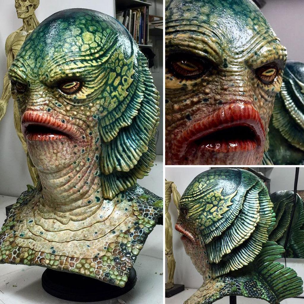 O trabalho desses artistas da maquiagem protética é tão bom que você nem acredita que é realmente maquiagem 16