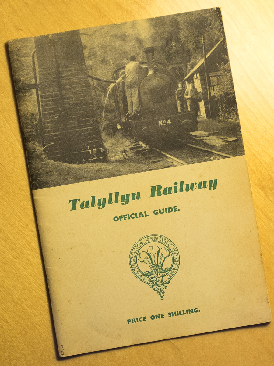 An early edition of the Talyllyn Railway Official Guide