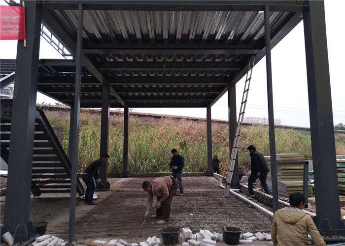 Bangunan Gudang Baja Desain Besar Konstruksi Bangunan Rangka Baja Ringan