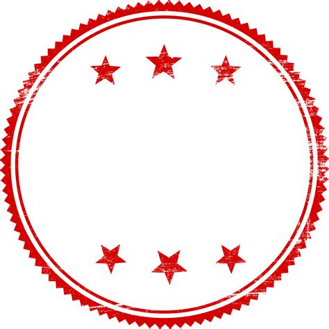 red empty stamp vector png transparent svg onlygfxcom