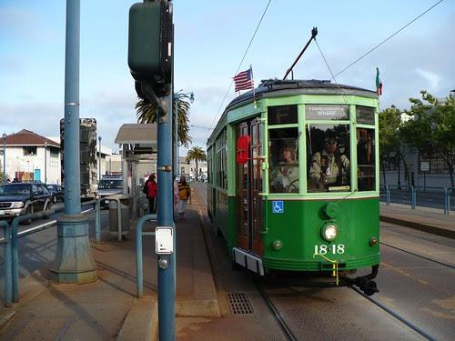 F Line Streetcar 1818