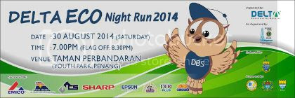 Delta Eco Night Run 2014