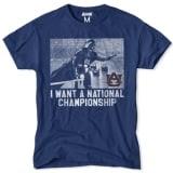 Auburn Tigers NCAA Star Wars T-Shirt - Navy Blue