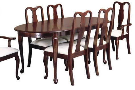 Queen Anne Dining Room Furniture - Home Furniture and Furnishings