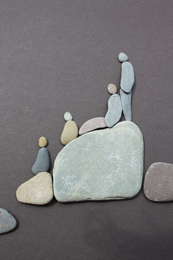 Handy Rock And Pebble Art Ideas For Many Uses26