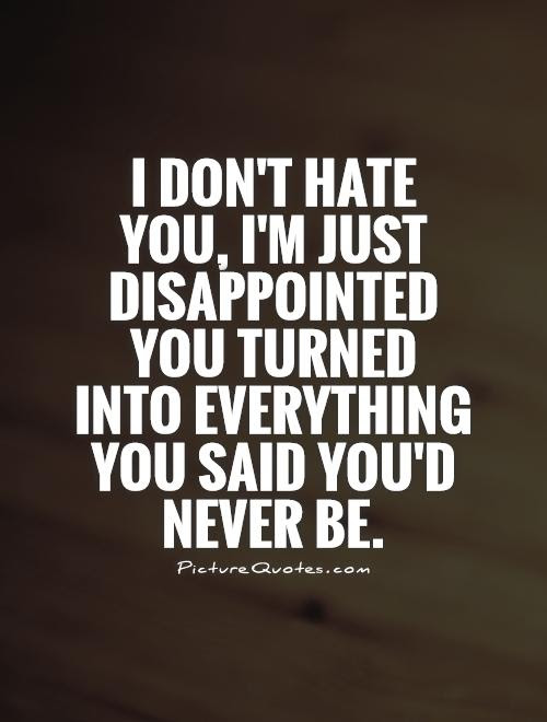 Disappointed Love Quotes For Him Soaknowledge