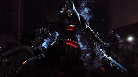 video game overwatch reaper overwatch wallpaper ow