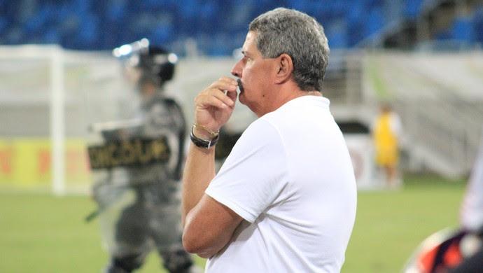 Potiguar de Mossoró - Pedrinho Albuquerque, técnico (Foto: Fabiano de Oliveira/GloboEsporte.com)