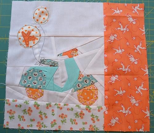 Scooty Patootie - For Katherine, Aqua & Orange Bee