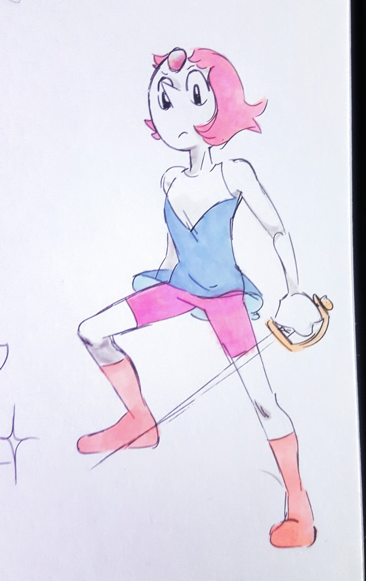 pearl the swordfighter