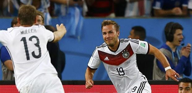 AO VIVO: Alemanha 1 x 0 na prorrogação (Darren Staples/Reuters)