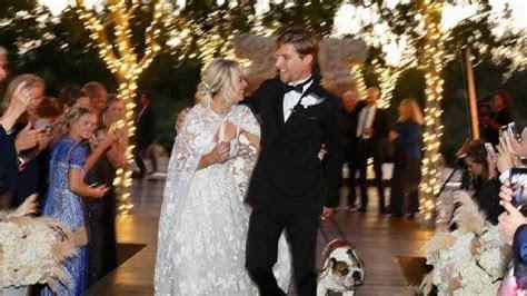 Kaley Cuoco?s wedding: Big Bang Theory star in tears
