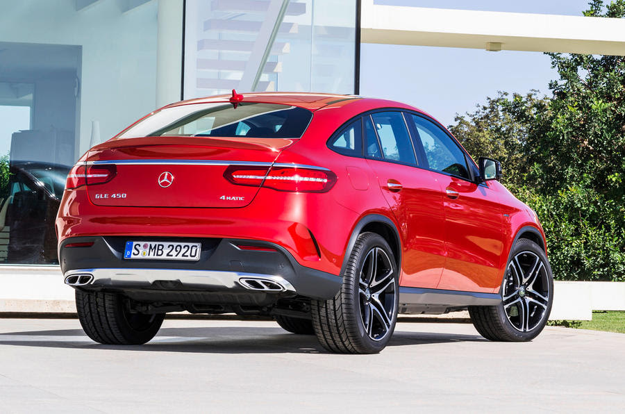 Mercedes-Benz GLE coupé on display at Detroit motor show ...
