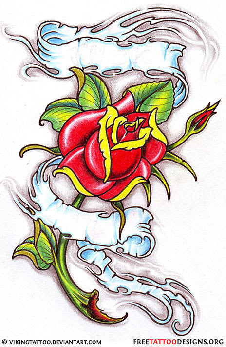 50 Rose Tattoos Meaning