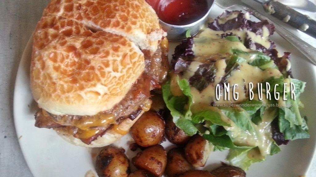 Grace Park OMG Burger