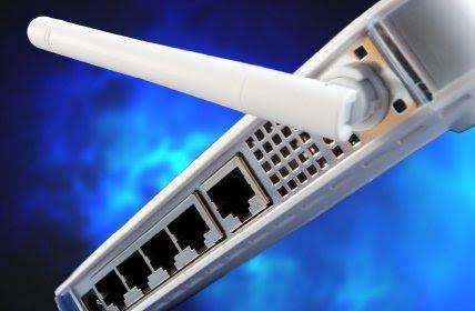 O roteador de Wi-Fi é uma versão doméstica das torres de transmissão de dados por rádio