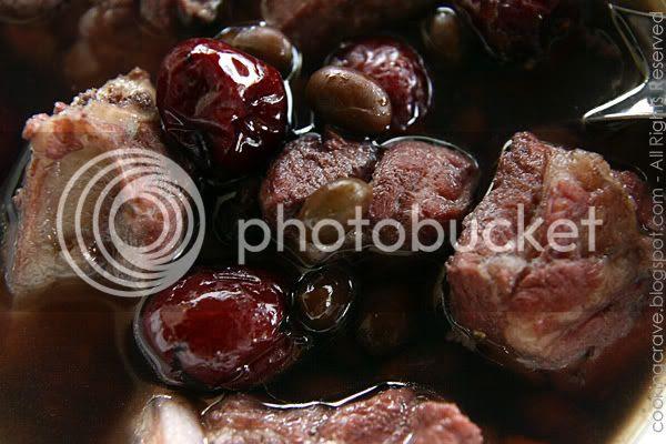 Black Bean Pork Ribs Soup4