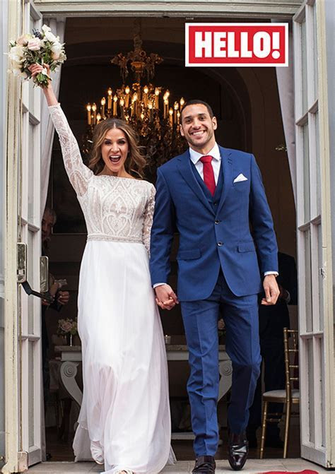 Amanda Byram shares her wedding album exclusively in HELLO!