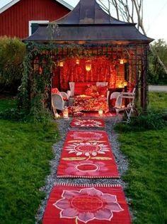 Bohemian Garden on Pinterest