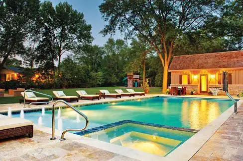 Top 6 Pool Deck Patio Design Ideas Luxury Pools Outdoor Living