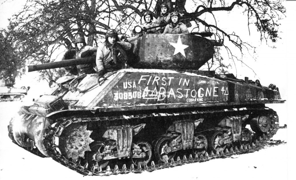 Recalling the Battle of the Bulge