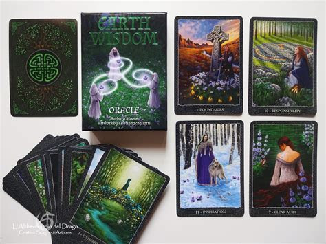Earth Wisdom Oracle Cards   CristinaScagliottiArt