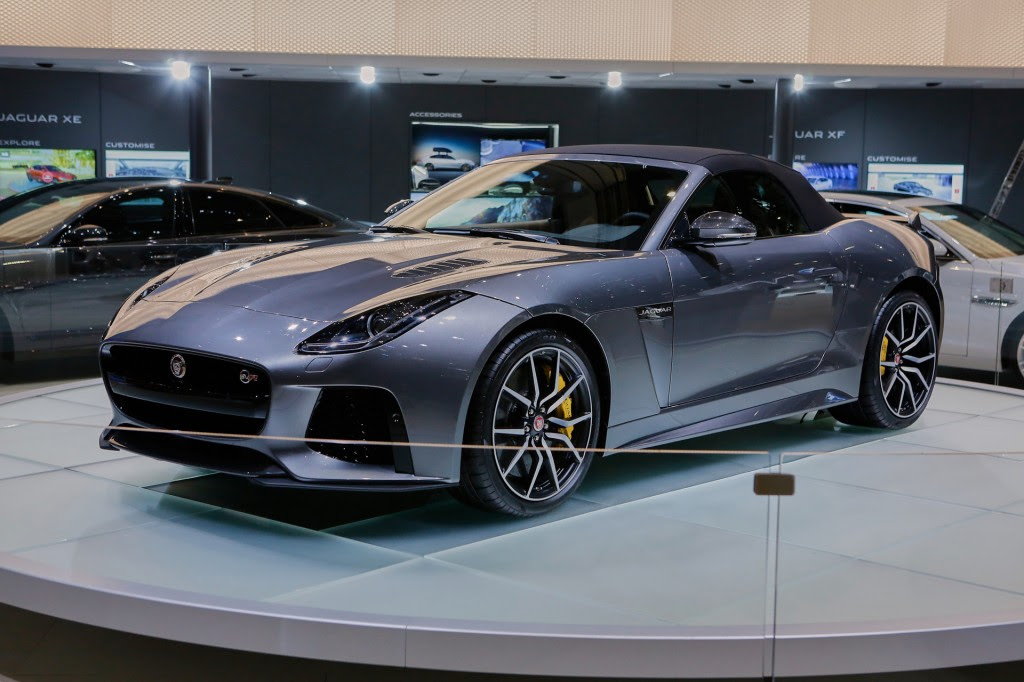 Image: 2017 Jaguar F-Type SVR Convertible, 2016 Geneva ...