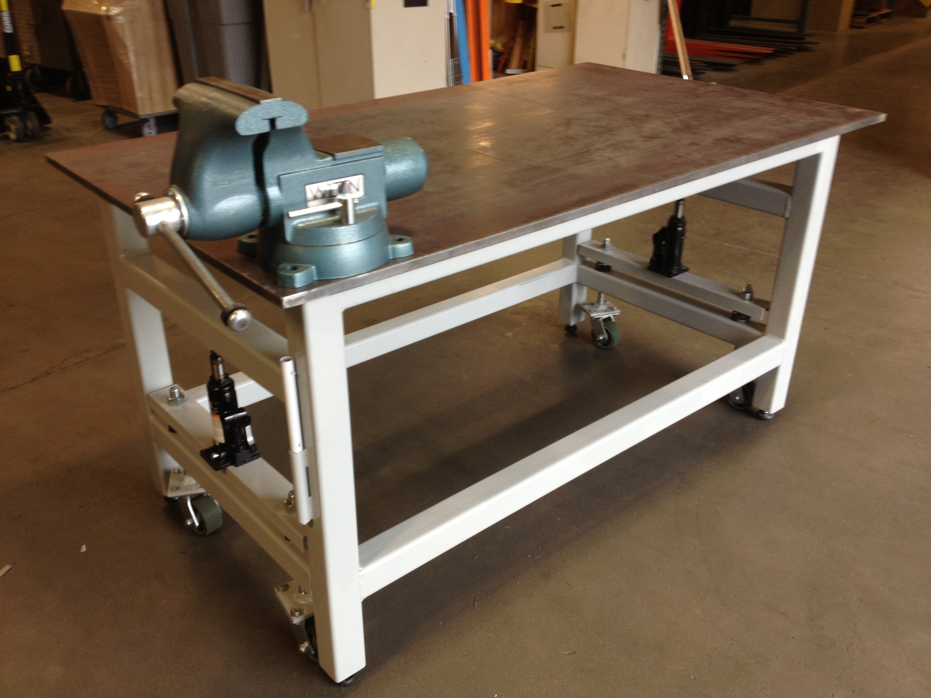 Workbench Plans Casters