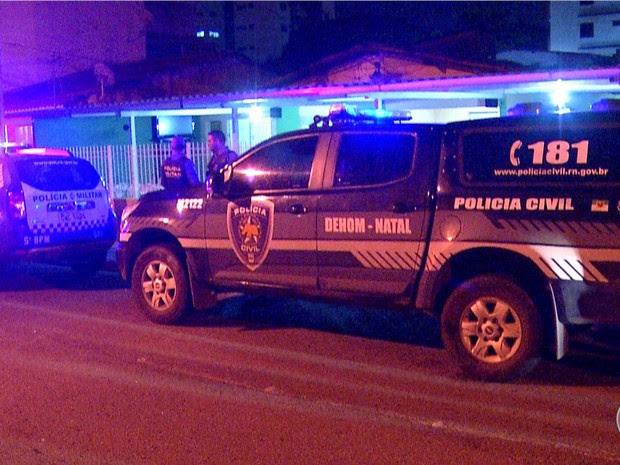 Tentativa de assalto aconteceu nesta terça-feira (31) em Natal (Foto: Reprodução/InterTV)